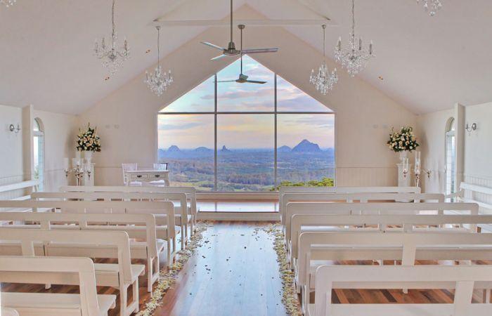 LOVE LOVE LOVE ~ Tiffany's Wedding Chapel - Weddings At Tiffanys Function Centre Maleny Sunshine Coast Hinterland