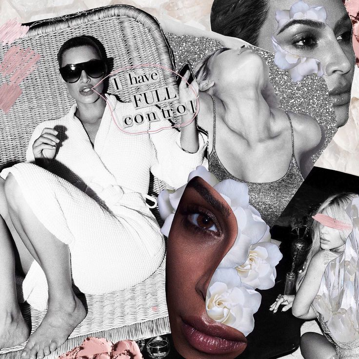 Kim Kardashian West X Violet Grey // #labyrinthofcollages #kkw #kkwbeauty