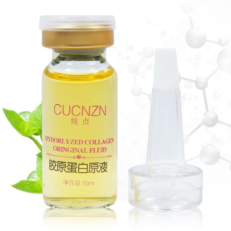 1pcs Face skin care acne cream Pure Collagen Liquid 10ml anti-aging Whitening Moisturizing Downplay Wrinkles korean cosmetics