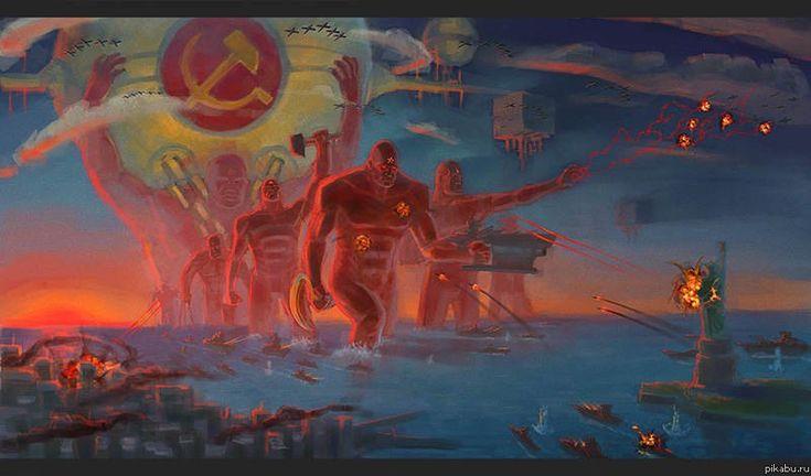 Dr.Manhattan Soviet Edition