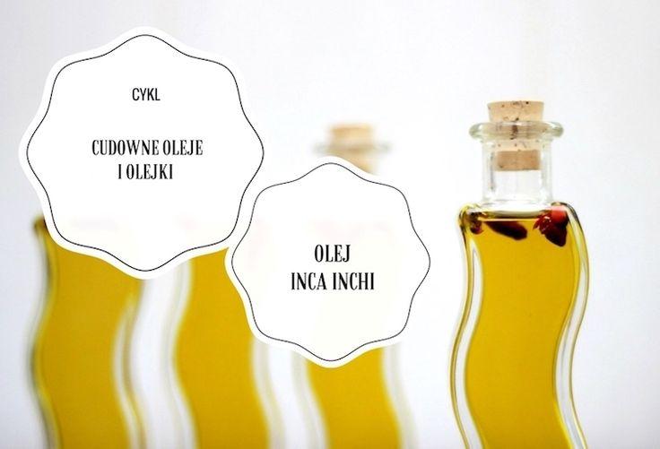 Cykl Cudowne oleje i olejki: Peruwiański olej inca inchi