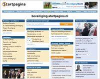 Nieuw uiterlijk voor beveiliging.startpagina.nl op Beveiliging Nieuws .nl, dagelijks het laaste nieuws over ICT-security, bewaking en beveiliging