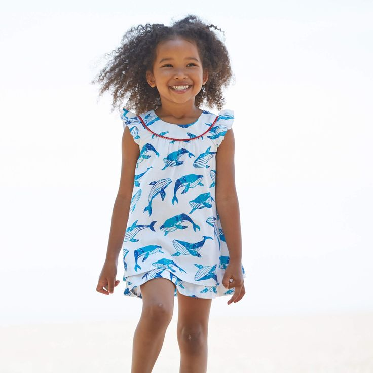 Flutter dresses are set to become the new classic.  #dress #girlsclothing #summer