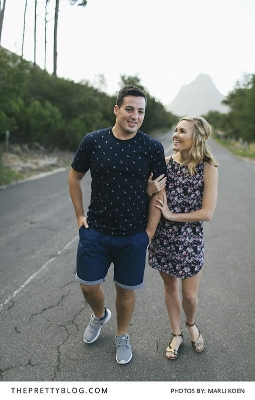 An inner city engagement shoot in Cape Town | Photograph by Marli Koen Photography | http://www.theprettyblog.com/wedding/a-mother-city-engagement/