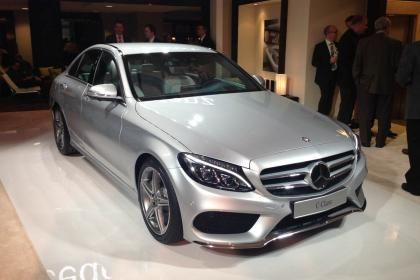 Mercedes C-Class 2014 exclusive pictures