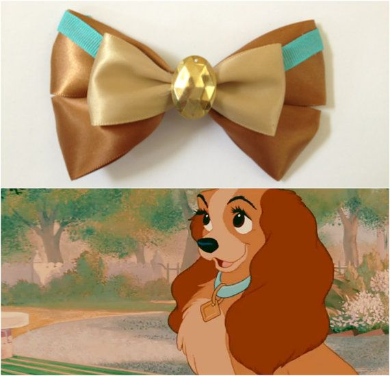 Lady and the tramp disney bow
