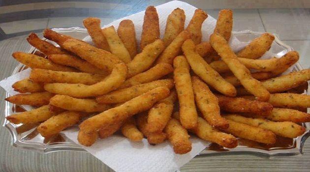 Receita de Bolinhos de babata frita