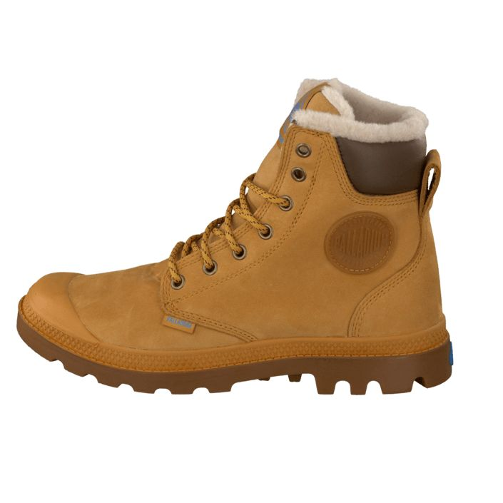 Kjøp Palladium Sport Cuff WPS Amber Gold Brune sko | Kraftige støvler for Herre & Dame ✓ Fri frakt ✓ Fri retur ✓ Rask levering. Prisgaranti!