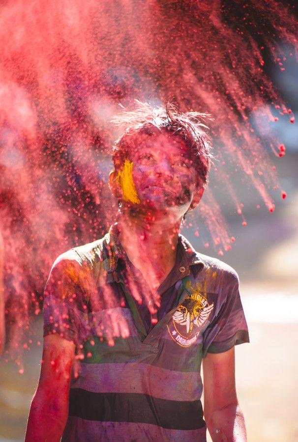 Holi - celebration of colors