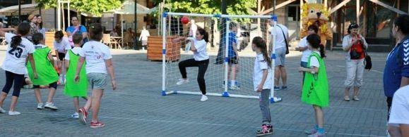 Romania: Baia Mare - Kids Street Handball Centru Vechi 2014
