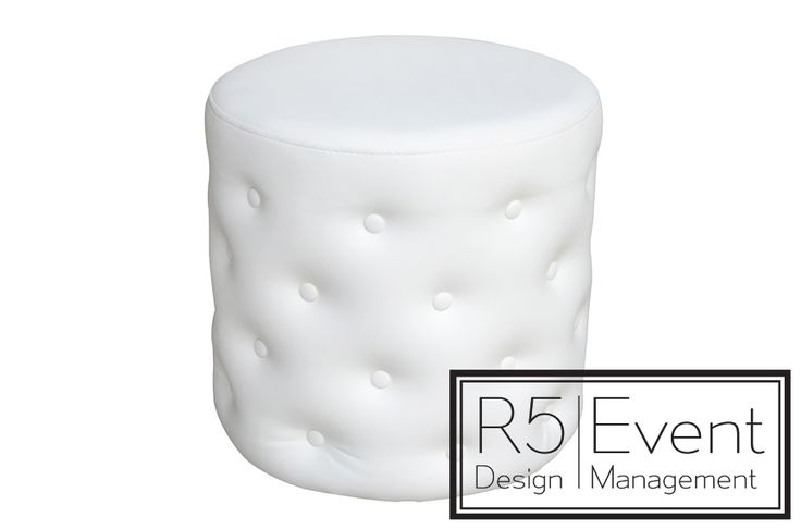 SoHo Ottoman- available for rent from R5 Event Design!