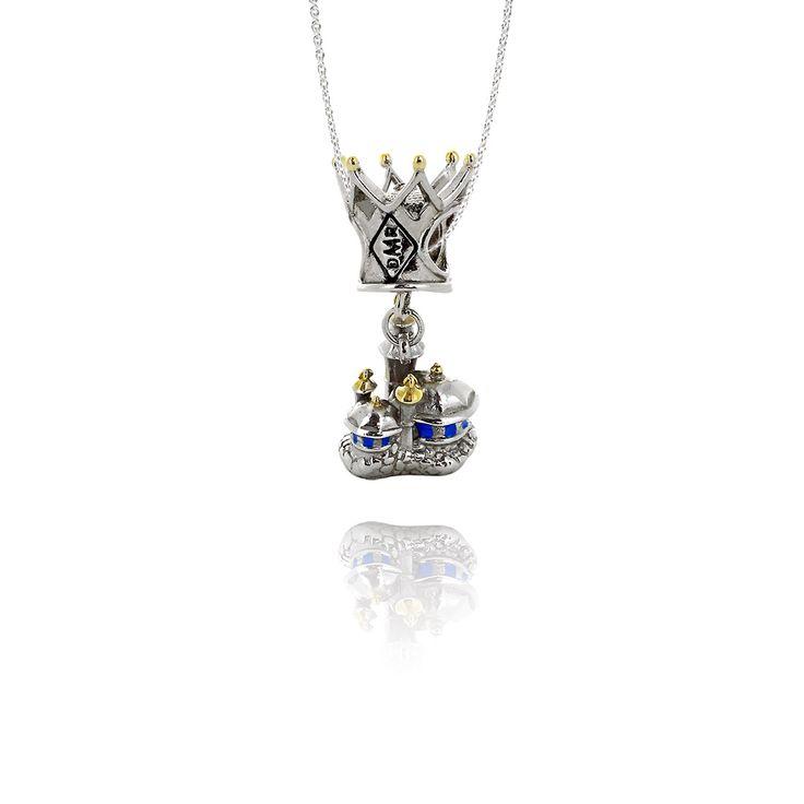 Подвеска-перлина «Сказочный замок»