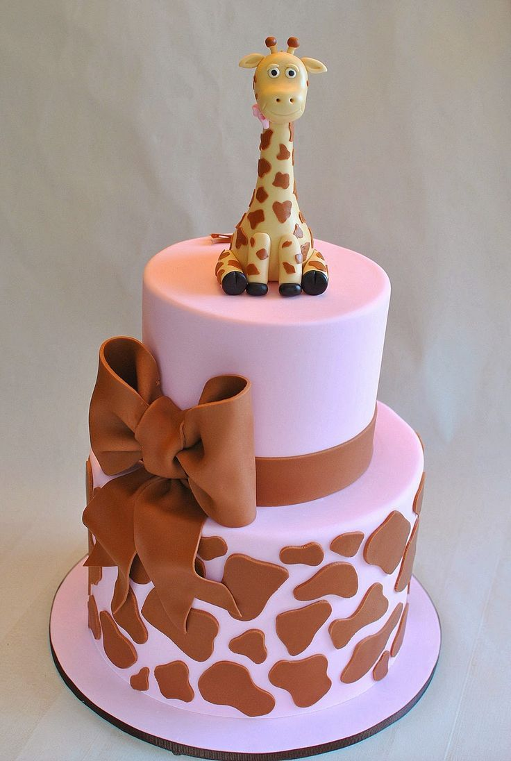 Sweet Pink Giraffe Cake, Hope's Sweet Cakes More