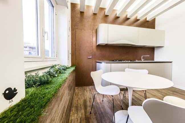 Современные апартаменты с ароматом сада