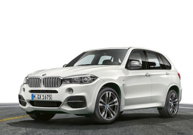 2014 Neuer BMW X5 M50d SUV