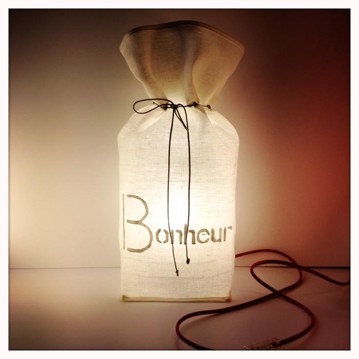 Lampe eco design fait main - Aix en Provence - PcMcreation