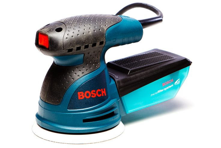Amps:  2.57 Speed (opm):  7500-12,000 Cord Length (feet):  8 Time Trial (seconds):  45.5 Price:  $80 Likes: That pretty much tells the Bosch sander's story—it gathered the most sawdust. It's the only model in the test that came with a pleated (automotive-style) prefilter. The Bosch's elongated rubber-coated (overmolded) handle is pleasingly long; you can use two hands if you care to. Dislikes: The dust lid is difficult to snap down. Double-check that it's snapped, because if it's not, the…