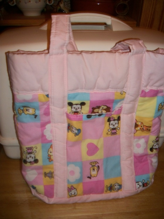 Disney Diaper Bag Tote Minnie Mouse Donald Duck 20 00