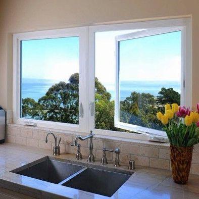 Kitchen Window Treatments Over Sink Diy