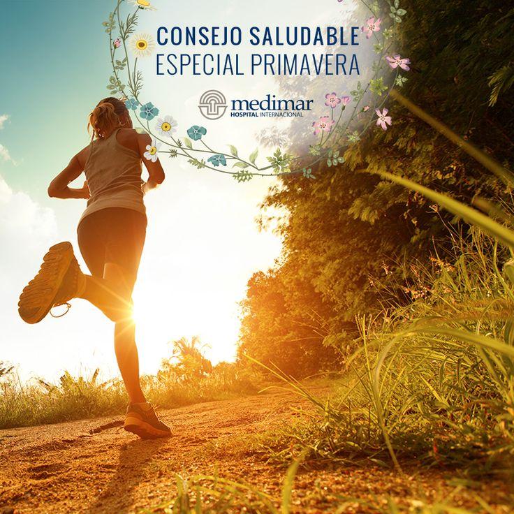Con la primavera, llega el sol, y éste estimula las ganas de hacer ejercicio, y además te sentirás mejor cuando realices actividades al aire libre