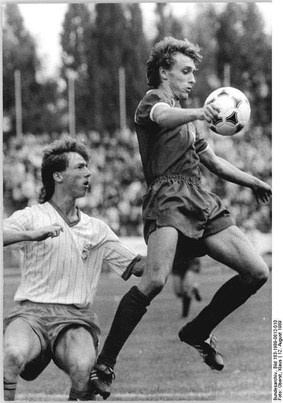 Thomas Doll - Nationalspieler DDR+BRD