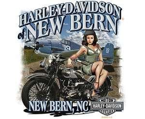 Pin Up Harley Davidson Radical Flat Twin Supercars