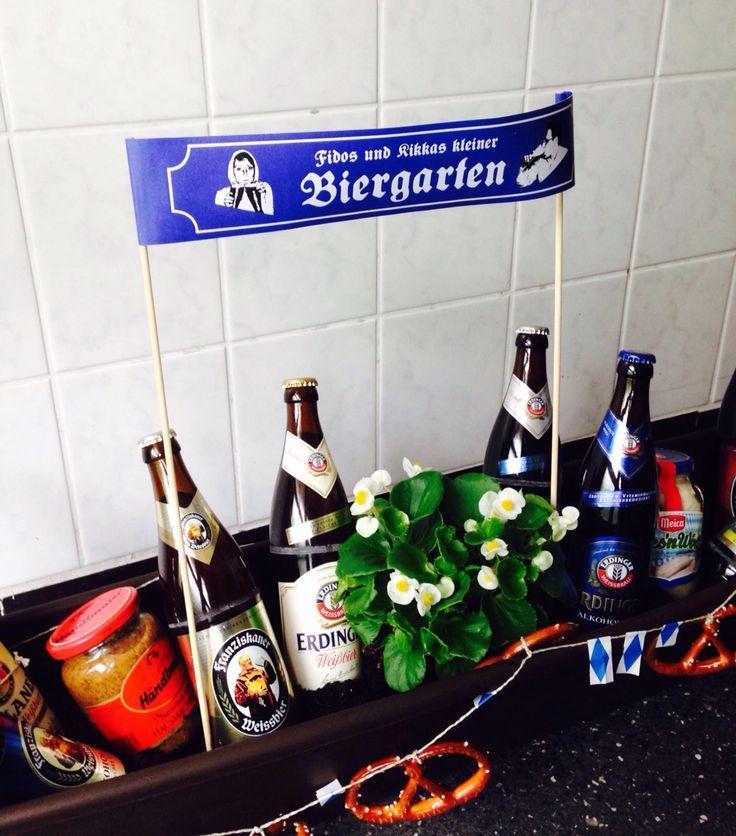 Geschenk Einzug Bier