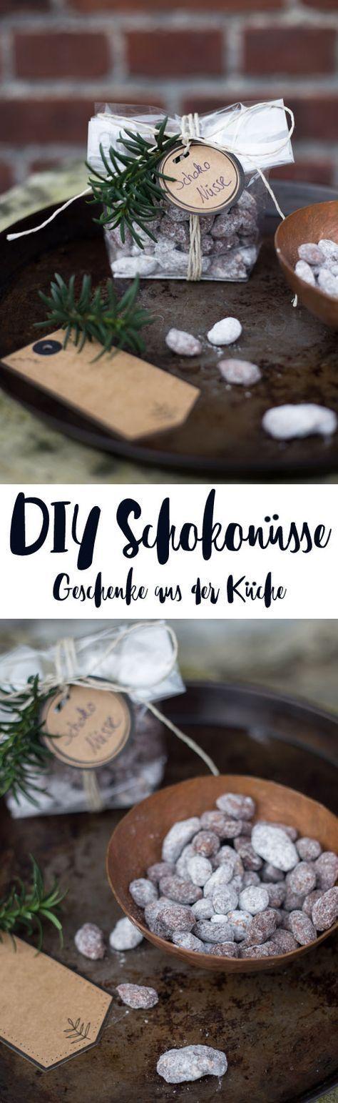 DIY Schokonüsse - DIY Geschenke aus der Küche selbermachen - kleines Mitbringsel