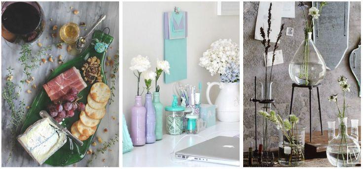 Inspírate de las siguientes ideas para reciclar botellas de vidrio y decora tu habitación sin gastar un peso.
