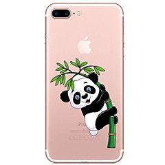 Til Gjennomsiktig Mønster Etui Bakdeksel Etui Tegneserie Myk TPU til AppleiPhone 7 Plus iPhone 7 iPhone 6s Plus iPhone 6 Plus iPhone 6s – NOK kr. 35
