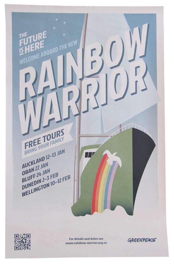 Greenpeace Rainbow Warrior tour 2013 by Walter Hansen, via Behance