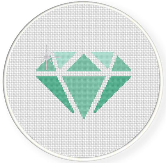 FREE for May 30th 2014 Only - Diamond Cross Stitch Pattern