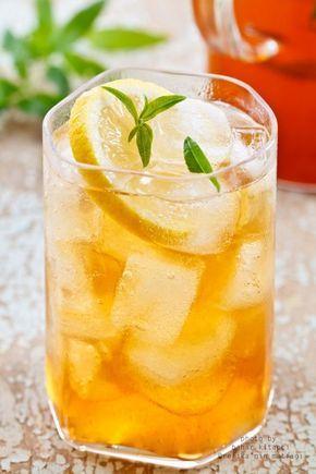 Lezzetli Buzlu Çay Tarifi/ Delicious Ice Tea Recipe