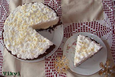 Bailey's ír krémes fehér csokoládés mousse pite - No. 38