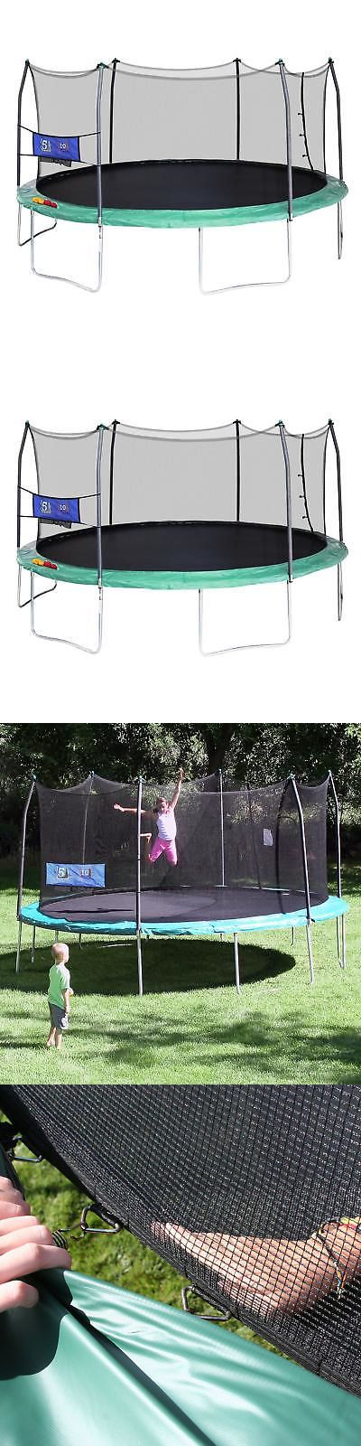 Trampolines 145999: Skywalker Trampolines Green 16-Foot Oval Trampoline With Enclosure And Toss Game -> BUY IT NOW ONLY: $328.94 on eBay!