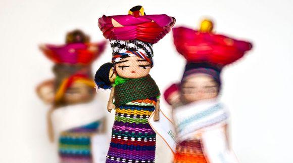 bamboline dal guatemala, bomboniere solidali: non sono  stupende?!