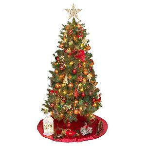 6ft multi color pre lit valley pine christmas tree 6 foot pre - Rite Aid Christmas Lights