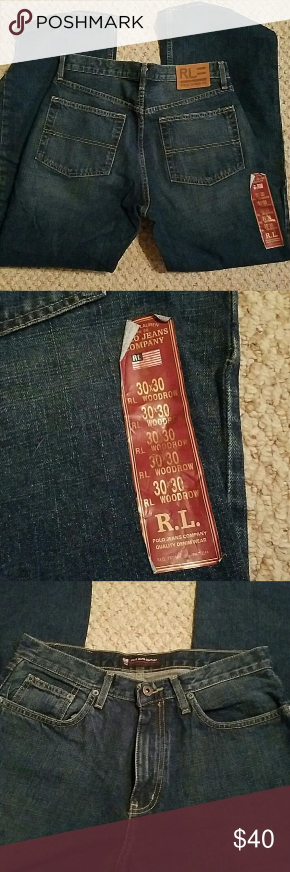 Mens Ralph Lauren Polo Jeans 30x30 New and never worn. Has original size label, price tag is missing. Ralph Lauren Jeans
