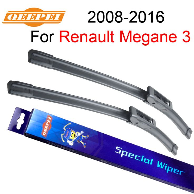 QEEPEI Wiper Blades For Renault Megane 3 2008-2016 High Quality Natural Rubber Car Windshield Accessories  #Affiliate