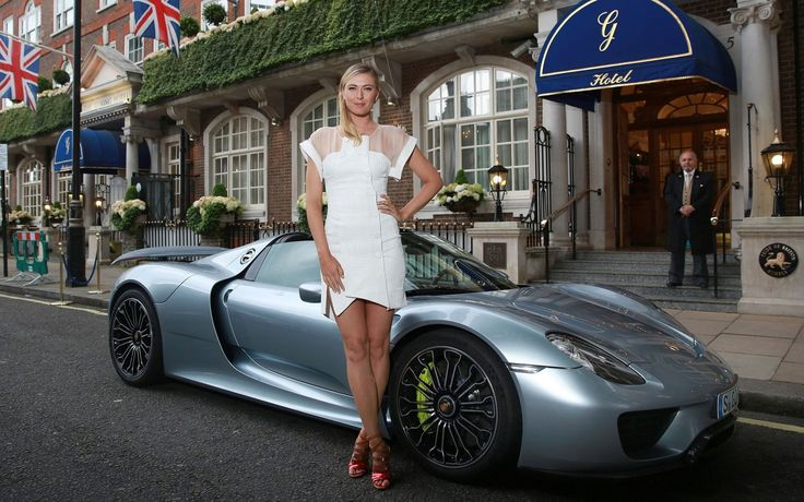 Maria Sharapova And Porsche. The Best Combination | Favcars.net - Part 2