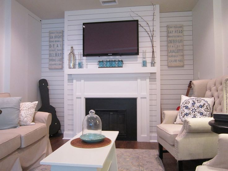 They turned this one car garage into a family room! How cool! | The Honeycomb Home