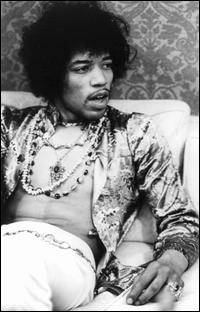 """Now that's what I'm talking about! One of my favorite photos of James """"Jimi"""" Marshall Hendrix."""