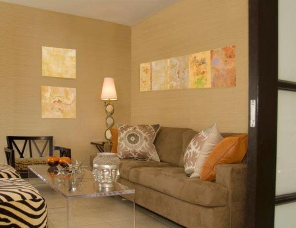 13 besten Wandfarben Bilder auf Pinterest Wandfarben, Snuggles - wohnzimmer braun orange