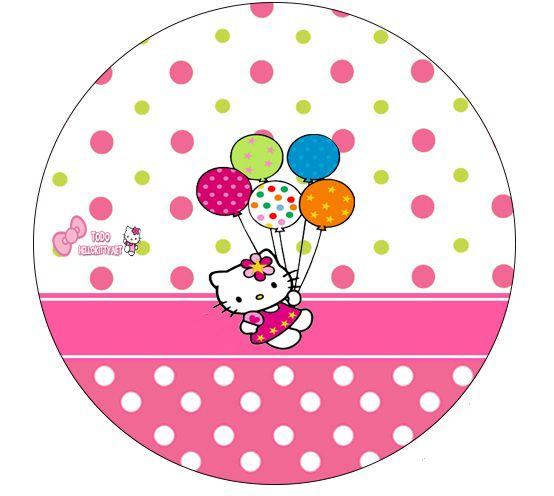 Etiquetas Stickers De Hello Kitty Imprimibles Hello