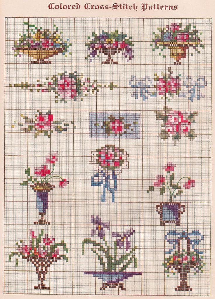 Berlin wool work chart