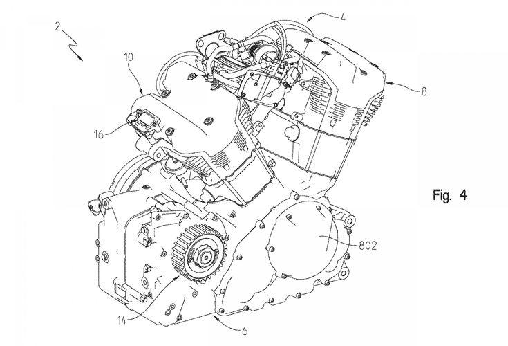 Motorcycle Engine Diagram Engineering Drawings and Drive