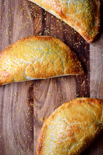 Chicken and Leek Pasty Recipe - these would be perfect to make ahead and keep in the freezer to be taken out as needed.