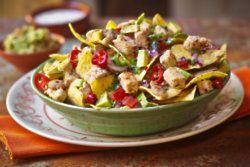Vegan Pieces & Nachos