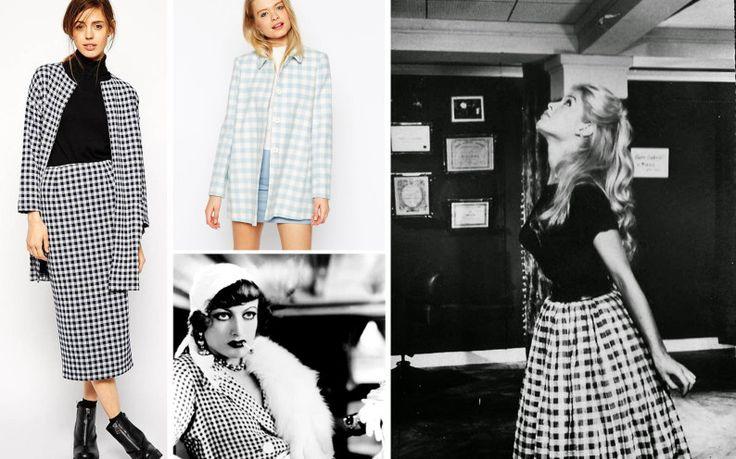 La stampa Vichy, o a piccoli quadretti, sarà la tendenza della Primavera-Estate 2015. La ricorderete tutte perché è associata a molte grandi attrici anni 50 e 60 che l'hanno utilizzata: due su tutte Katharine Hepburn e soprattutto la bellissima Brigitte Bardot che camminava per i viottoli della Costa Azzurra con gonne e shorts a quadrettini monocolore. Leggi su http://www.chicstyle.it/vichy-il-tessuto-dei-pic-nic-primaverili/