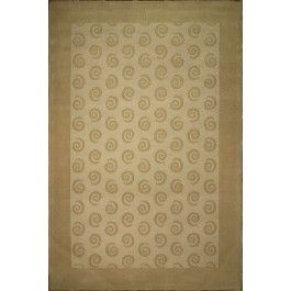 Handmade Rectangular Swirl Area Rug in Camel, 8x10 area rugs